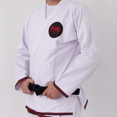 Kimono Jiu Jitsu Branco Trançado 2019
