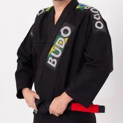 Kimono Jiu Jitsu Preto Tradicional Modelo 01