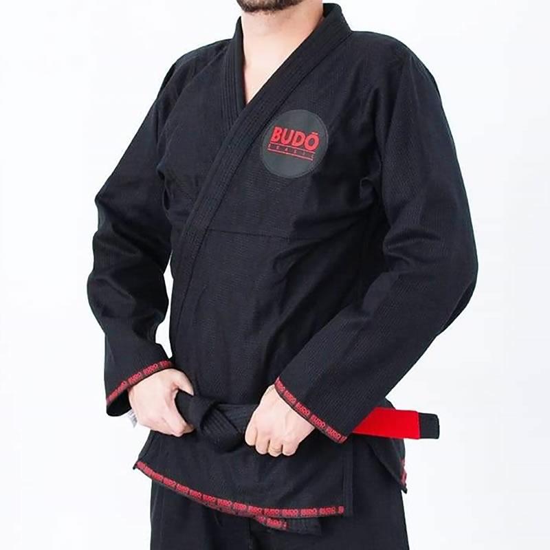 Kimono Jiu Jitsu Preto Trançado Modelo 2019