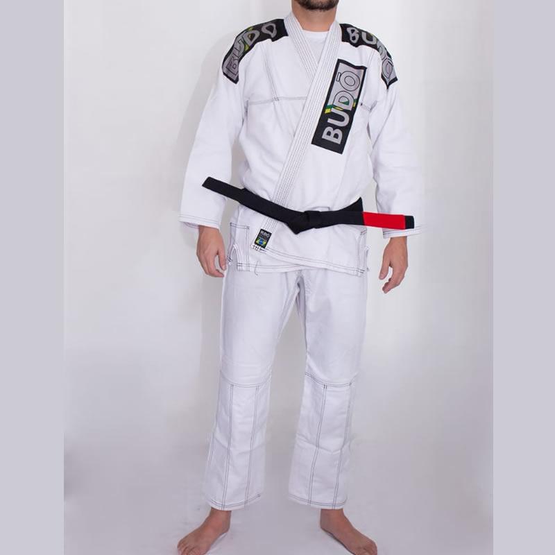 Kimono Jiu Jitsu Branco Tradicional Modelo 02