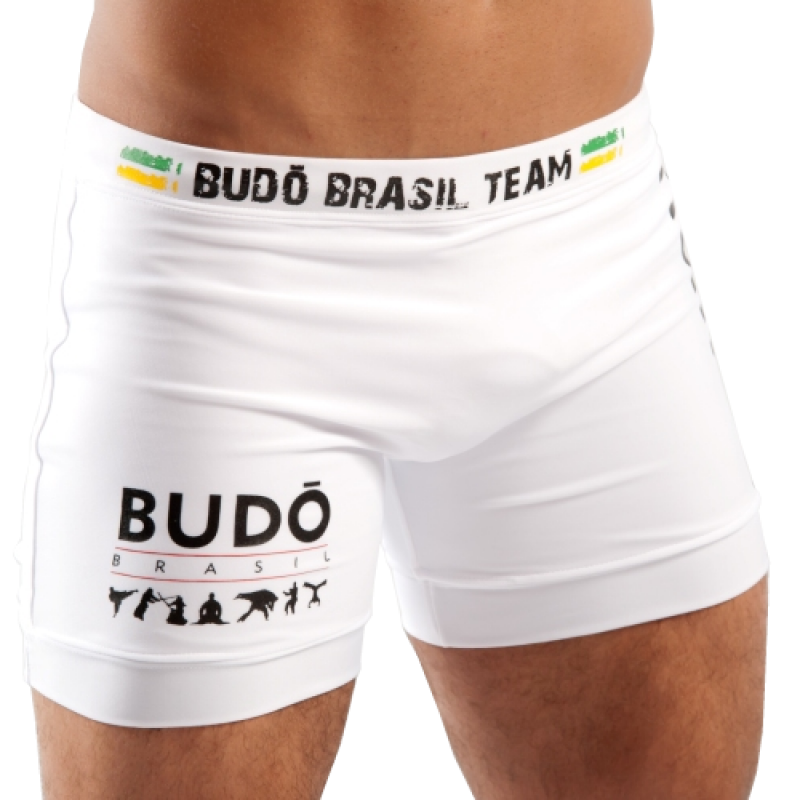 Short Lycra Fight Branco