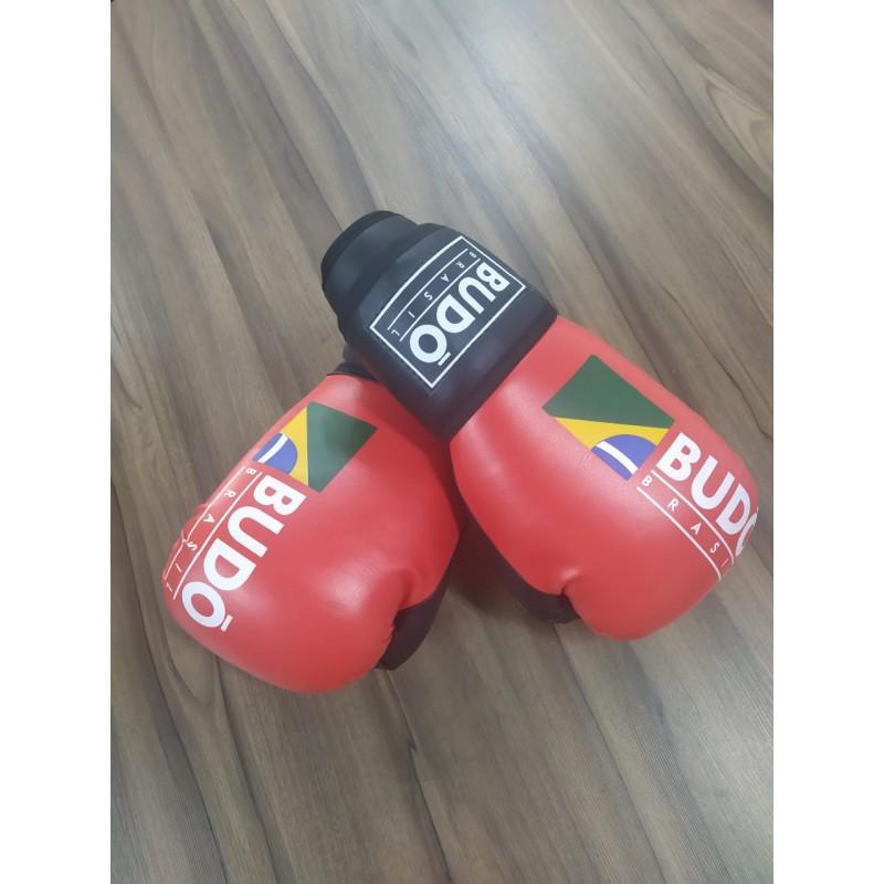 Luva de Boxe e Muay Thai Vermelha