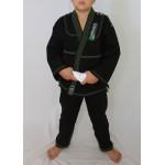 Kimono Jiu Jitsu Trançado Infantil Preto