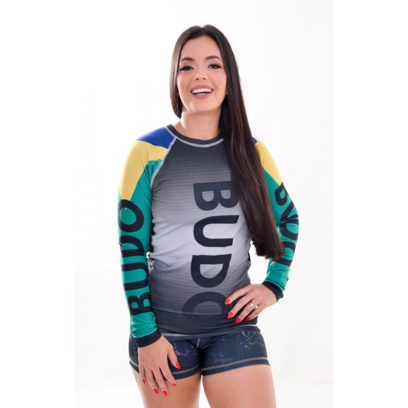 Rash Guard Unissex Sublimada Brasil
