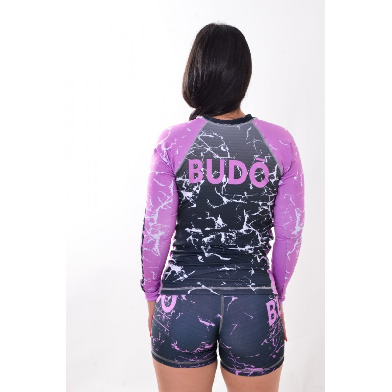 Rash Guard Unissex Sublimada Roxa